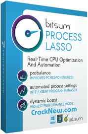 Process Lasso Pro 9.8.7.18 Crack + Activation Keygen 2021 [Latest]