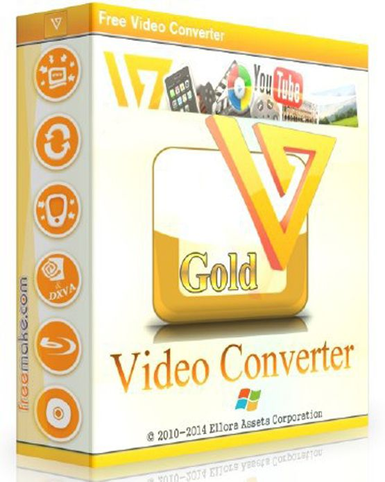 Freemake Video Converter Gold 4.1.12.66 Crack + Activation Key [Latest] 2021