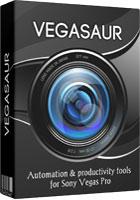 Vegasaur 3.9.3 Crack + Activation Code Keygen [Sony Vegas Pro] Latest