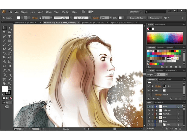 Adobe Illustrator CC 2020 24.2.1.496 Crack With License Key 2020 Latest