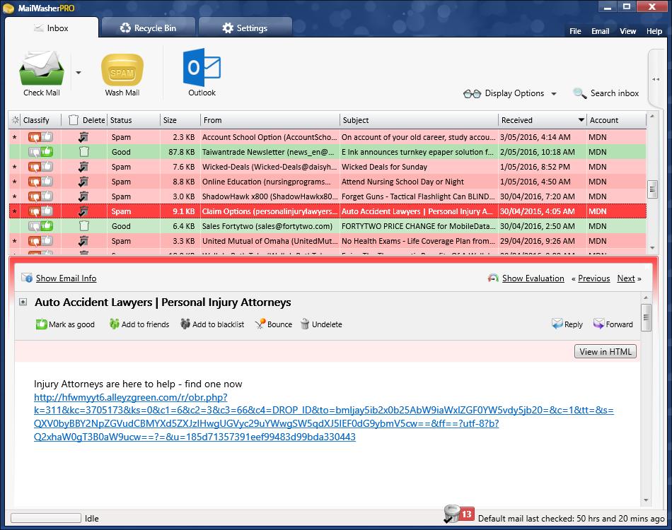 Firetrust MailWasher Pro 7.12.41 Crack + Serial Key 2020 [Latest]